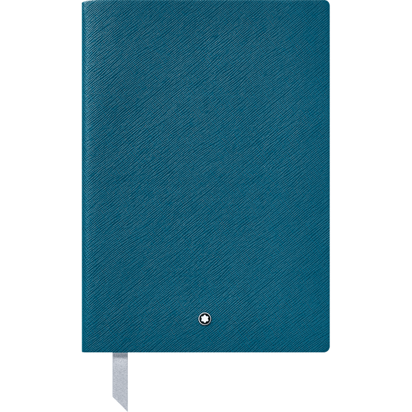 Montblanc-Fine-Stationery-Cuaderno--146-Petrol-Blue-con-lineas