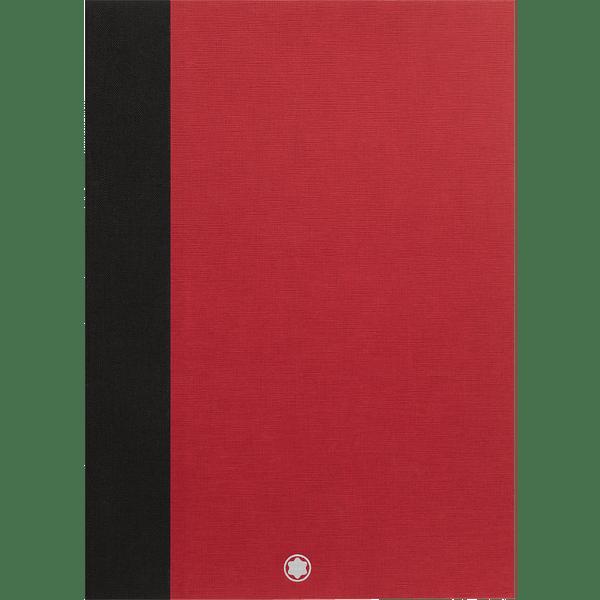 Montblanc-Fine-Stationery-2-Cuadernos--146-finos-color-rojo-hojas-en-blanco-para-Augmented-Paper