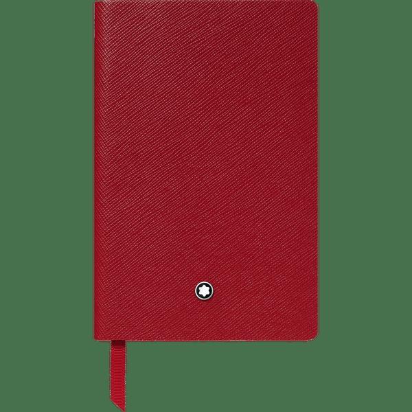Montblanc-Fine-Stationery-Cuaderno--148-rojo-con-lineas