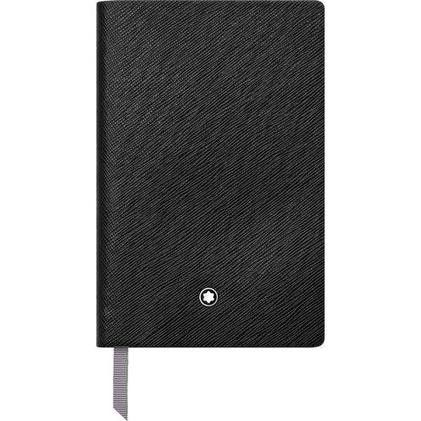 Montblanc-Fine-Stationery-Cuaderno--148-negro-con-lineas