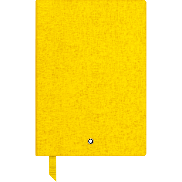 Montblanc-Fine-Stationery-Cuaderno--146-amarillo-con-lineas