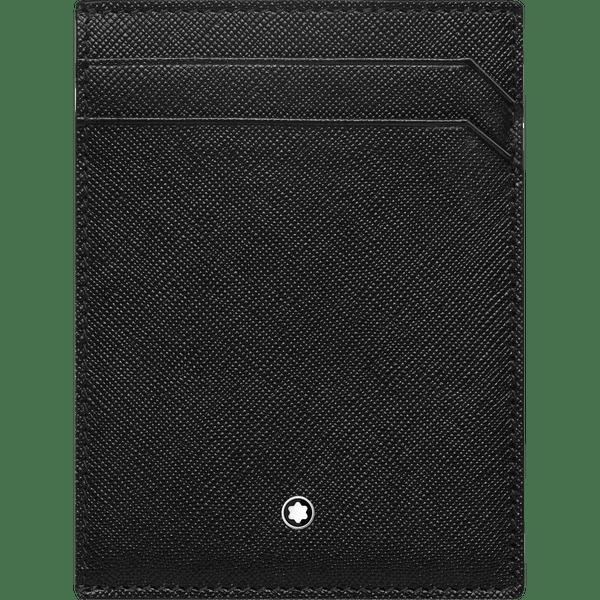 Montblanc-Sartorial-Portatarjetas-de-bolsillo-para-4-tarjetas-con-Funda-para-documento-de-identidad