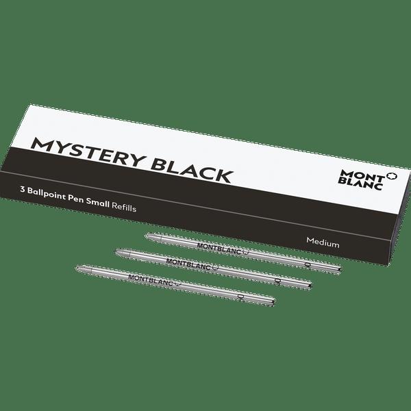 3-recambios-para-boligrafo-Mystery-Black-pequeños-para-Meisterstuck-Mozart-y-Augmented-Paper