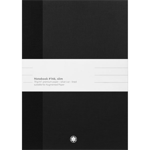 2-Montblanc-Fine-Stationery-Cuadernos--146-Fino-negro-con-lineas-para-Augmented-Paper