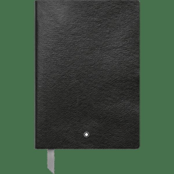 Montblanc-Fine-Stationery-Cuaderno--146-negro-cuadriculado