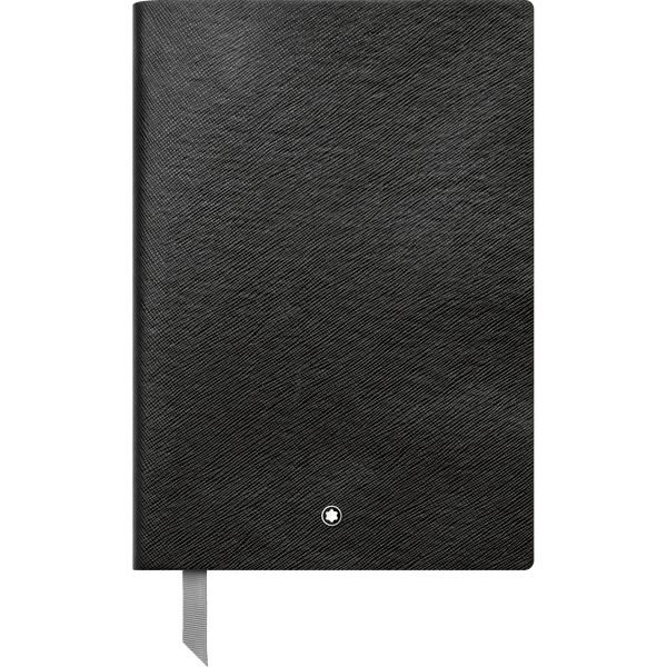 Montblanc-Fine-Stationery-Cuaderno--146-negro-con-lineas