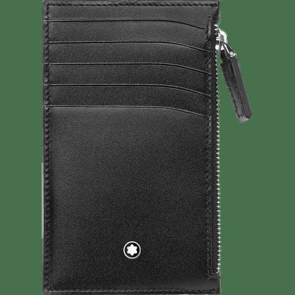 Meisterstuck-Portatarjetas-de-bolsillo-para-5-tarjetas-con-cremallera