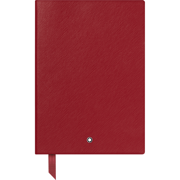 Montblanc-Fine-Stationery-Cuaderno--146-rojo-con-lineas