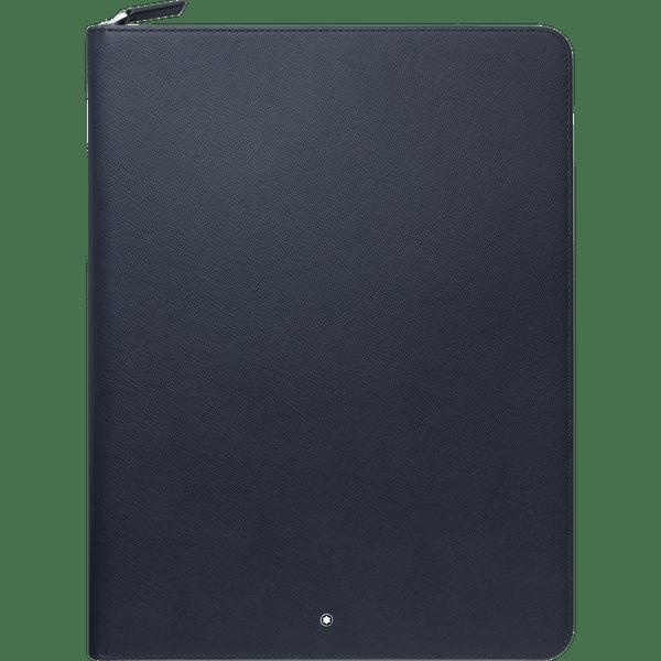 Montblanc-Sartorial-Libreta-de-notas-grande-con-cremallera