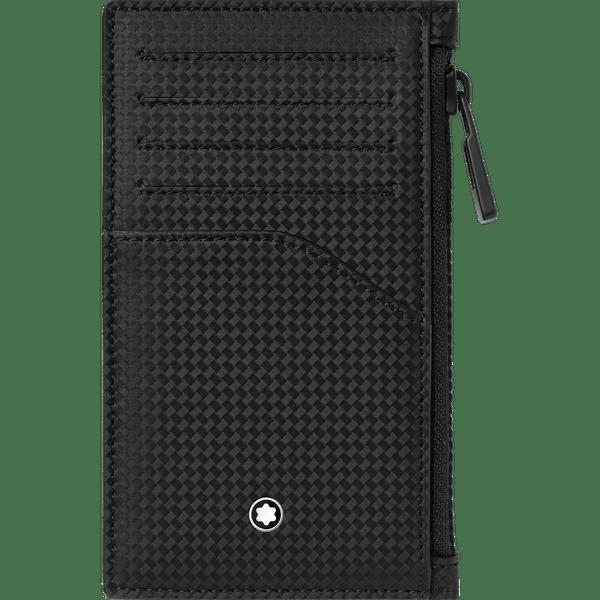 Montblanc-Extreme-2.0-Portatarjetas-de-bolsillo-para-5-tarjetas-con-bolsillo-con-cierre
