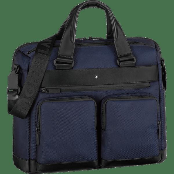 My-Montblanc-Nightflight-Portadocumentos-mediano-con-2-bolsillos-delanteros