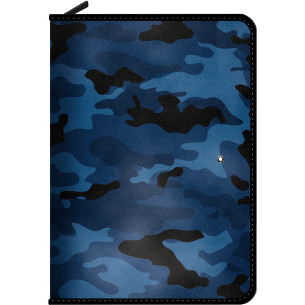 Montblanc-Augmented-Paper-azul-camuflaje