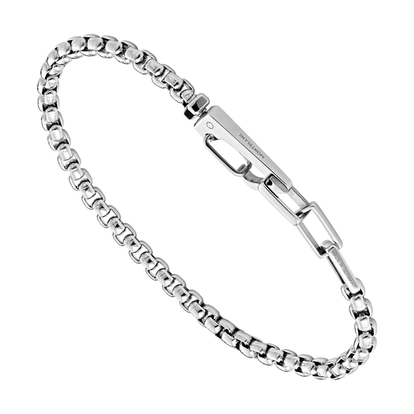 123827---Bracelet-in-stainless-steel-with-carabiner-closure_1842780