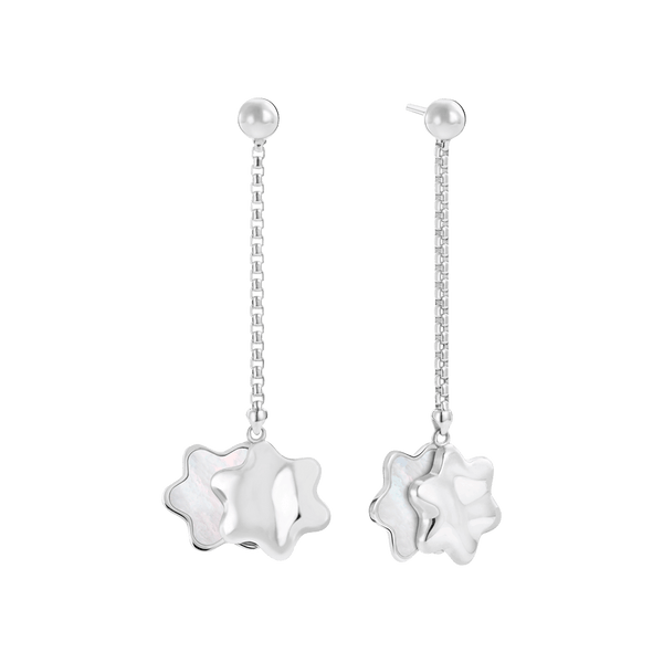 118523---Long-earrings-in-silver-with-snowcap-emblem-pendants-and-mother-of-pearl-inlay_1842238